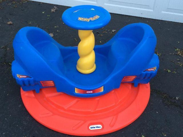 Little Tikes Ride On Toys : Little tikes whirly rocket merry go round ride on toy indoor