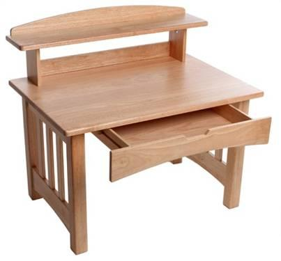 little tikes woods mission style desk and chair for sale in port jervis new york classified. Black Bedroom Furniture Sets. Home Design Ideas