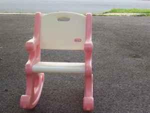 Pics Photos - Little Tikes Rocking Chair Pink And White