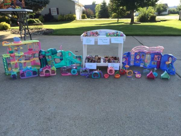 Littlest Pet Shop HUGE Collection!!! - $115