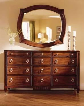 Liz Claiborne Bedroom Armoire U0026 Trip Dresser W/ Mirror