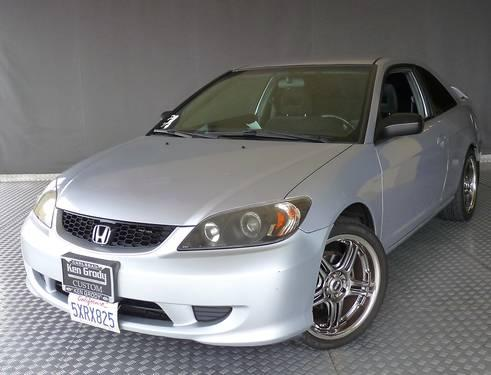 loaded 2005 honda civic ex special edition silver 5spd. Black Bedroom Furniture Sets. Home Design Ideas