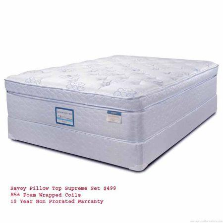 Local Pillow Top Queen Mattress Whole Setlong Warranty 12down