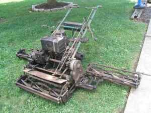 Locke Triplex Antique Mower 70 Inch Cut (Allentown)