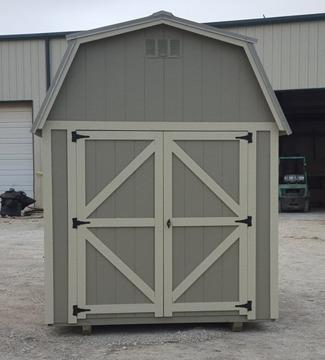 Lofted barn 8x12 storage sheds portable buildings