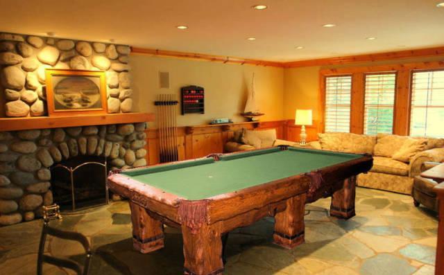 Log Billiard Table Rustic Pool Table For Mountain Home