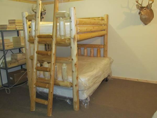 Log Bunk Beds For Sale In Rhinelander Wisconsin