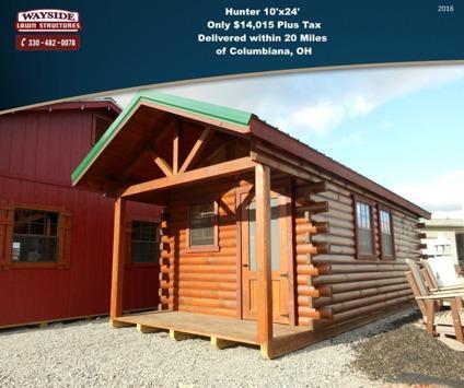 Log Cabin (Hunter 10'x24' Portable Cabin)