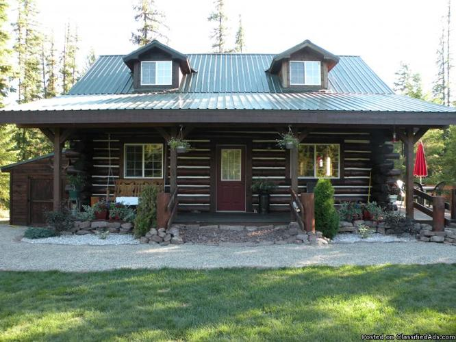 Log Home For Sale For Sale In Cabinet Idaho Classified