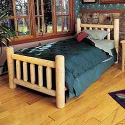 Log Pole Twin Bed Frame White City For Sale In Medford