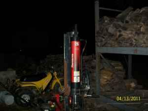 LOG SPLITTER - $950 (TOLEDO/OREGON)