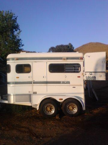 Logan 2 Horse Straight Load Trailer For Sale In Sun City
