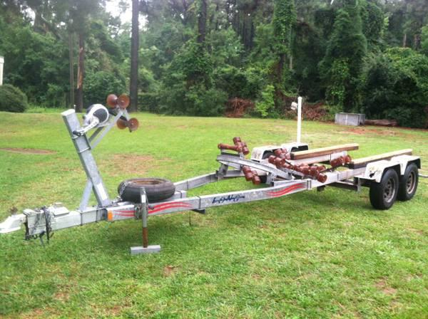 Long Tandem Axle Trailer - $1500