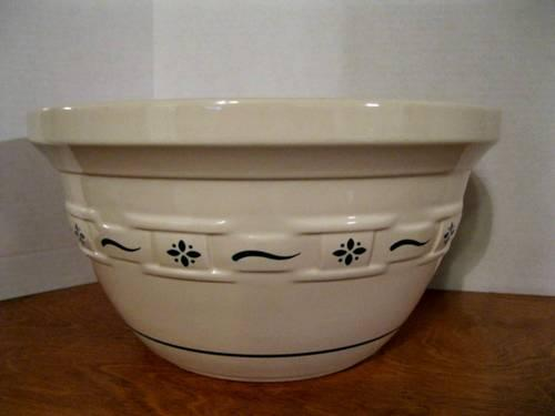 This is a beautiful pie dish as only Longaberger cheese ball holder or or use as a part of candle display. 8 in x 8 in x 2 in square baking dish by longaberger pottery. The auction is going on for this excellent longaberger potte 4/4(36).