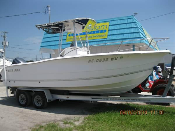 Quot Look Quot 2003 Sea Pro 220 Cc Yamaha F225 Low Hours Loaded