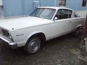 LOOK TO BUY 1964 TO 1966 PLYMOUTH BARRACUDA PART - $1 (WINCHESTER KY)
