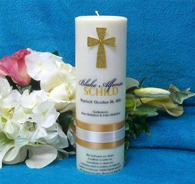 Looking for an exotic collections of Baptism Candle