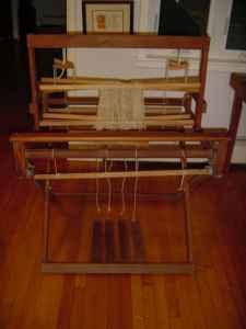 Loom, 4 harness, 31 weaving width. - $200 Oakham, MA