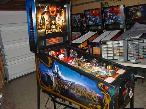 Lord of the Rings Pinball Machine for Sale in San Jose ...