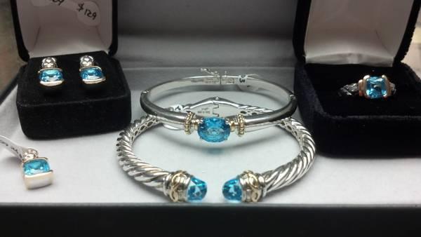 Lorenzo blue topaz jewelry for sale in birmingham alabama for Jewelry pawn shops birmingham al