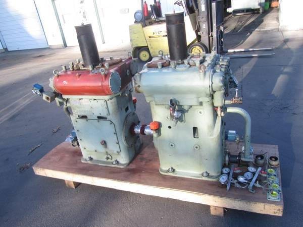 LOT 2 EACH 2006 HAMWORTHY 2TF5 AIR COMPRESSOR PUMP HATLAPA MARINE SHIP - $595