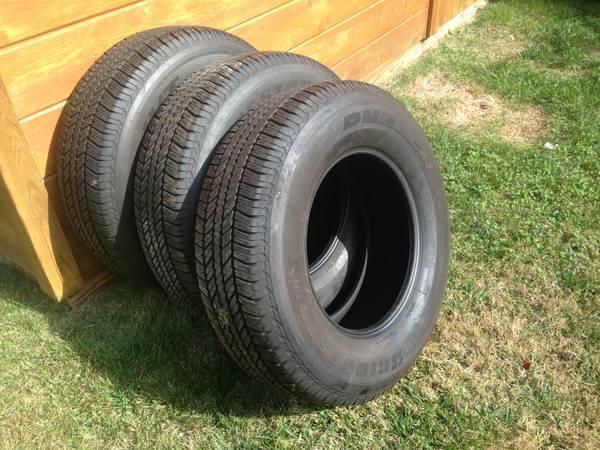 Toyota Of Annapolis >> Lot of 3 Bridgestone Dueler H/T P265 70R17 Tires 4Runner ...