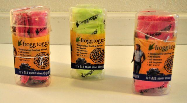 Lot of 3 New Frogg Toggs Chilly Sport Neck & Head Bands