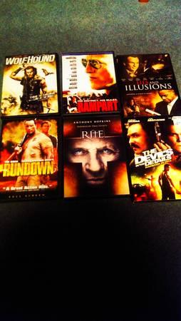 Lot of 6 amazing action movies!!! - $15