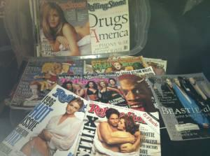 LOT OF 65 '94-'97 ROLLING STONE MAGAZINES - $35