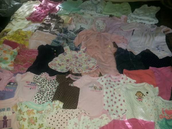 LOT OF BABY CLOTHES $30 OBO - $30