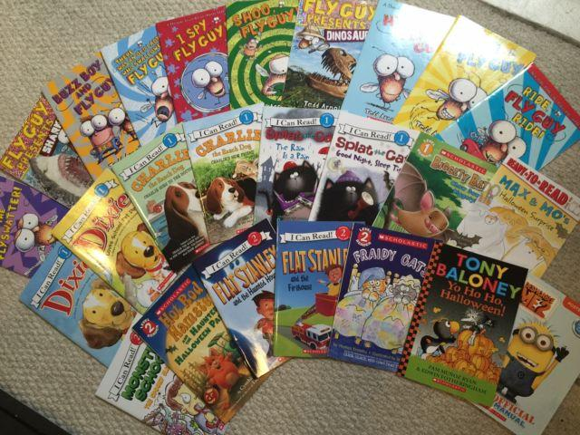 USED: Lot of Like New Scholastic Readers (Level 1 and