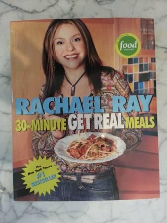 Lot of Rachael Ray Cookbooks - $8