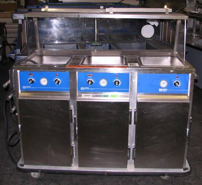 Lot Of Restaurant Equipment Food Warmers Steam Table