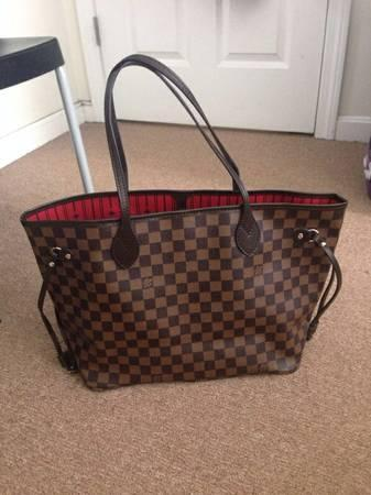 163eba98209 Louis Vuitton neverfull mm damier ebene high end replica !! - for ...