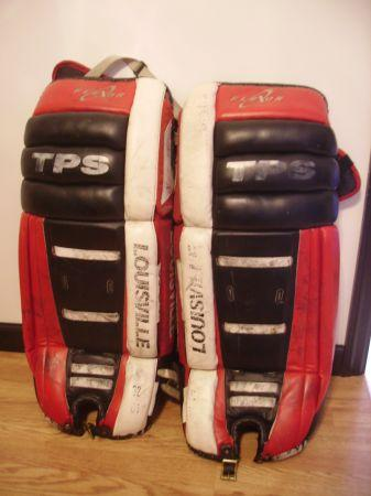 Louisville TPS 32 Ice Hockey Goalie Leg Pads - $150
