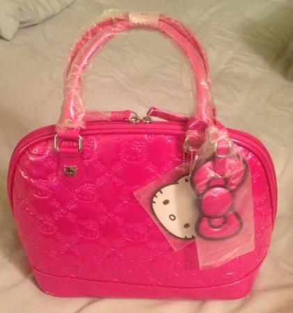 Loungefly Hello Kitty Embossed Patent Leather Bags