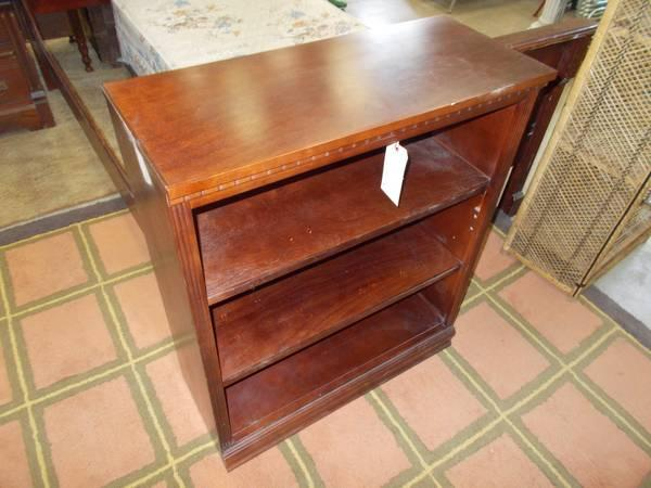 Low Mahogany Book Shelf for Sale in Greenwich