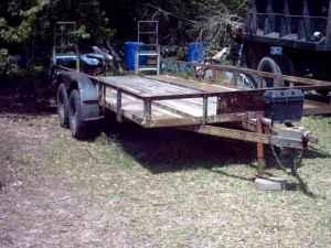 Lowboy Trailer 18 Foot - $1200 (Vidor, Texas)