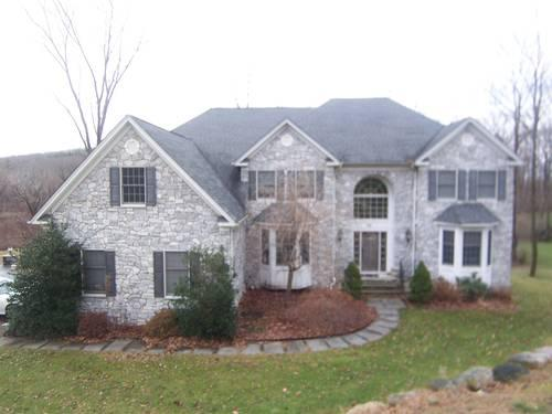 Lower west milford spectacular 4br stone faced colonial for Stone faced houses