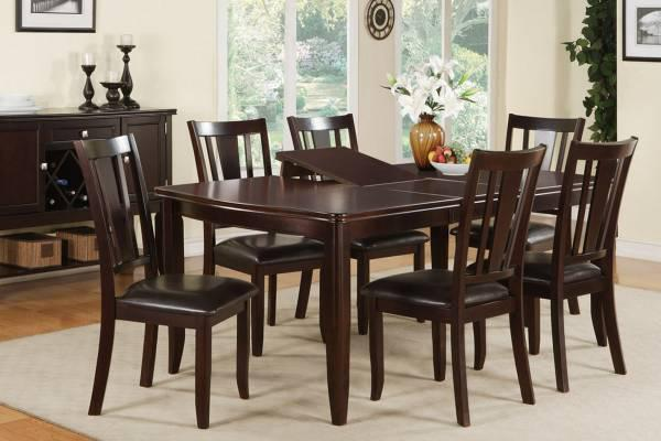 Lowest Price In Town 7pc Dining Set Butterfly Leaf