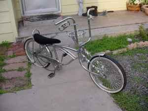 lowrider bike chrome complete chain steering wheel. Black Bedroom Furniture Sets. Home Design Ideas