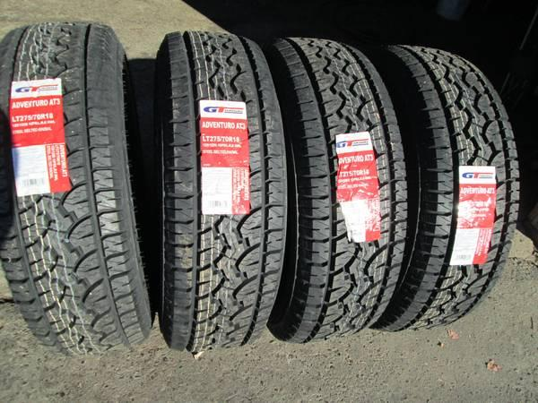 """Gt Radial Tires >> LT275/70/18 ford f250 f350 set of 4 new tires 10 ply AT 18"""" - for Sale in Ridgeway, North ..."""