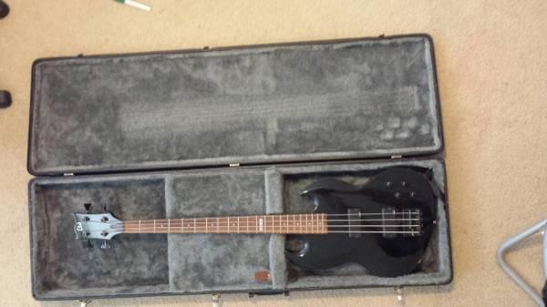 Bass Guitar Hard Case For Sale : ltd esp viper 104 4 string bass guitar w epiphone hard case for sale in leander texas ~ Hamham.info Haus und Dekorationen