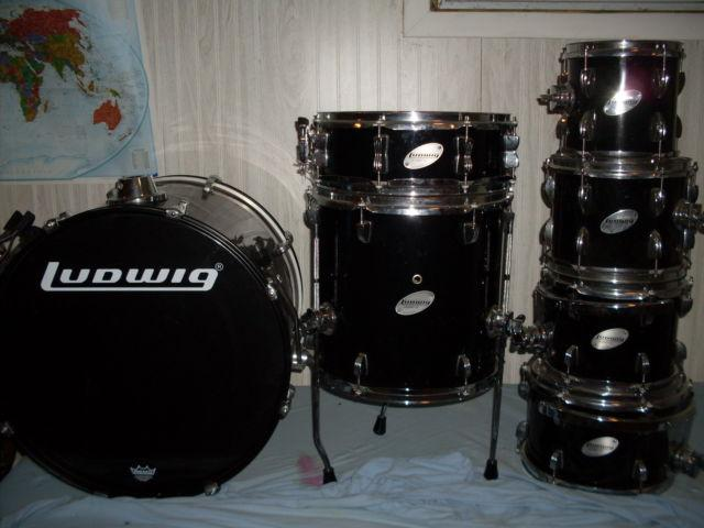 Ludwig Accent CS Drum Set Complete