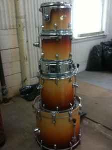 Ludwig CS Custom Drum Set wSlingerland Snare Worcester MA
