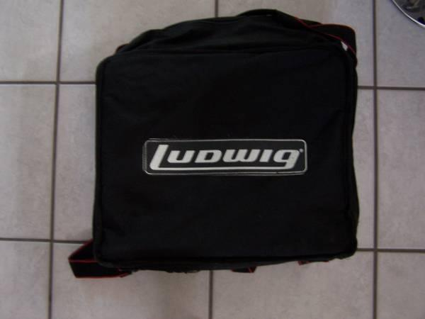 LUDWIG SNARE DRUM SOFT TRANSPORT CASE - $25