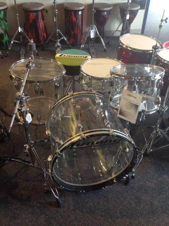 Ludwig Vistalite Drumkit Shell Pack LIQUIDATION