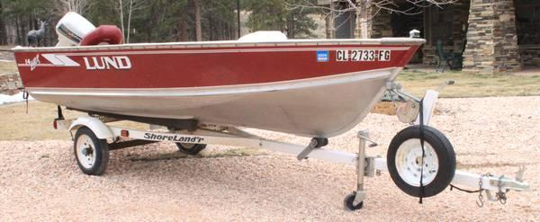 LUND Laker 14' Fishing Boat** Package - $2750