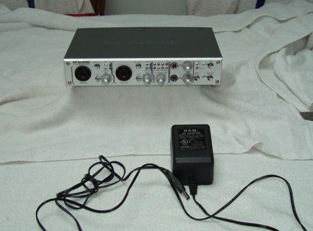 m audio firewire 410 midi audio interface for sale in bellevue washington classified. Black Bedroom Furniture Sets. Home Design Ideas