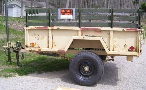 M101a2 Cucv Military 3 4 Ton Trailer For Sale In Dorr